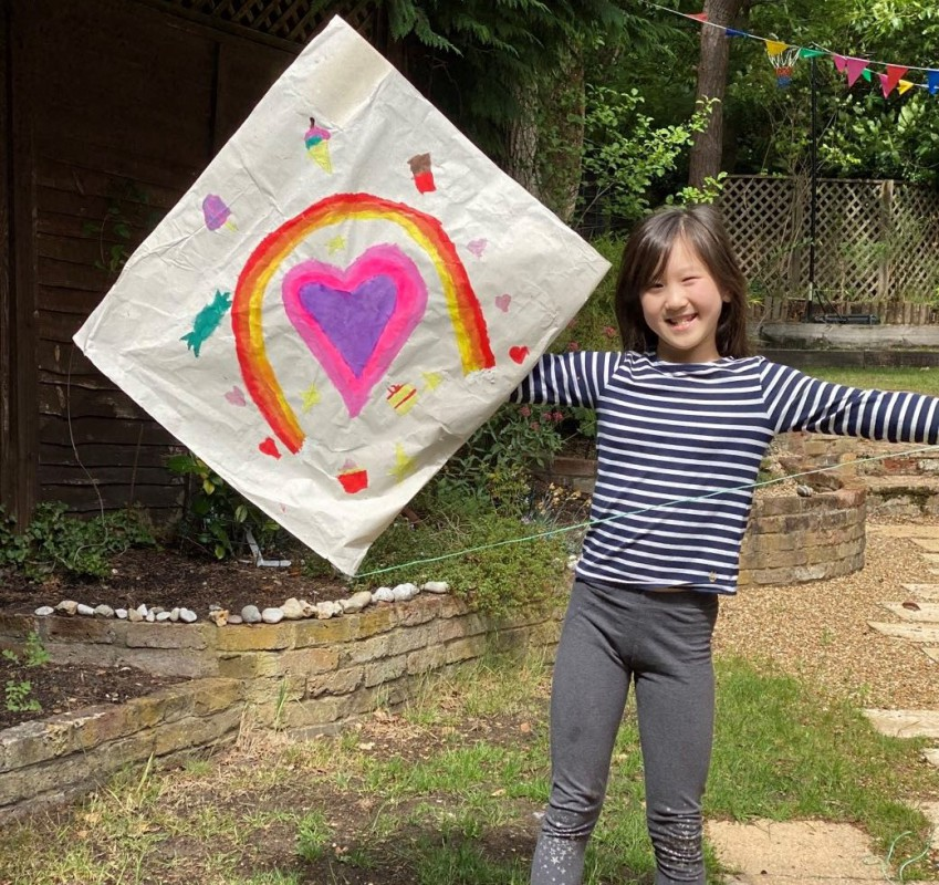 MRS B'S KITE MAKING CHALLENGE