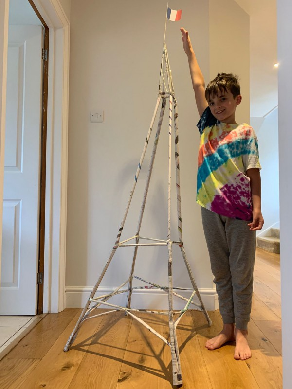 MRS B's EIFFEL TOWER CHALLENGE